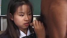 Niiyama Risa Uncensored Japanese blowjob