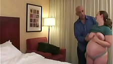 Brunette woman gets fucked by an older fullfullbig