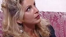 italian blonde amateur milf gets fucked hard by a young gay LOW