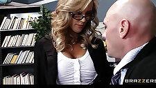 School principal Brandi Love gives school teacher a sex ed lesson