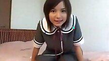 Horny Japanese model Tina Yuzuki in Fabulous Striptease, Small Tits JAV movie