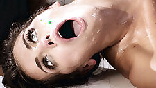 Girlfriend fisted hard till she gets a squirting orgasm!