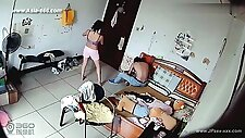 Hackers use the camera to remote monitoring of a lover\'s home life.38
