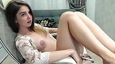 Beautiful Naked Camgirl Sexy Puffy Nipples
