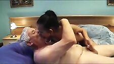 Old man calls a sexy young escort girl with nice boobs  cre