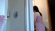 brother placed a hidden cam in the bathroom, he never though