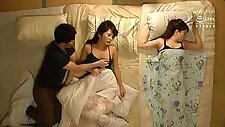 NHDTB-139 Fucking a japanese teen while others are sleeping beside
