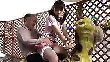 Father Fucks Daughter in Front of her Mother Yui Kasugano