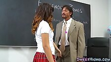 Mexican college skank