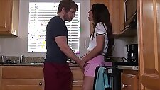 Teen Step Sister Gets Creampied by Step Brother After School - Shane Blair