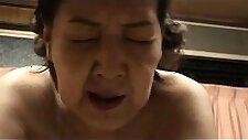 Wild Japanese granny puts her amazing sex skills into action