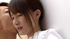 Hotaru Yukino lovely Japanese schoolgirl with white lingerie
