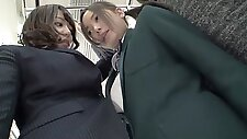 Amazing Japanese chick in Incredible Public, HD JAV video