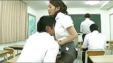 VKO1084 japanese woman teacher
