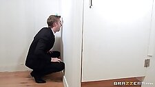 office gloryhole duties for the busty intern susy