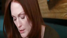 Amanda seyfried and Julianne Moore Lesbian Scene in Chloe