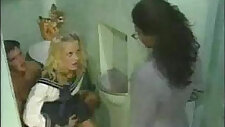 Erika Bella Sex in the School Bathroom