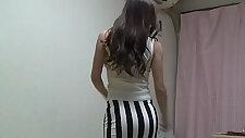 Peeping Naked school Girl Madoka at Her Room