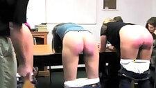 Fetishon spanking video amazing caning harsh