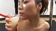 Big load bukkake and swallow girl Japanese Uncensored